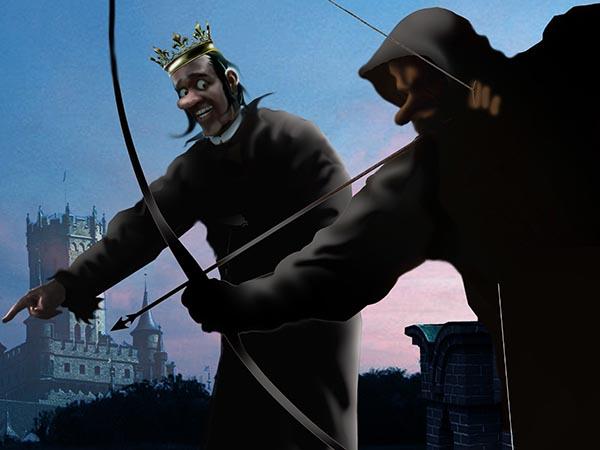 Некоторые трубадуры исхитряются публично оскорблять Моё Величество эзоповым языком. Для таких у меня есть эзопов снайпер.