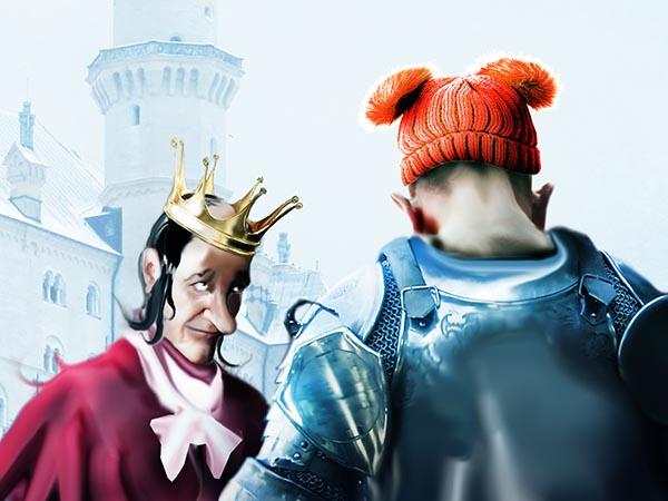 Оппозицию сильно беспокоит туповатость власти. Да! Я окружил Своё Величество придурками, зато зело целеустремлёнными и вельми юркими.