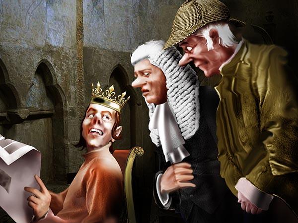 Категорически запретил сыщикам и судьям досаждать представителям королевской власти. Велел заниматься только неблагонадёжными бандитами.