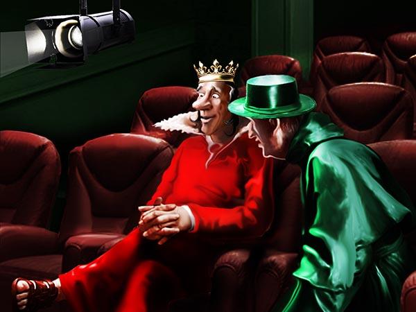 Заказал королевским театрам дюжину пьес, в которых все положительные герои – неприхотливые, беззубые, ходят голожопыми, без работы мрут.