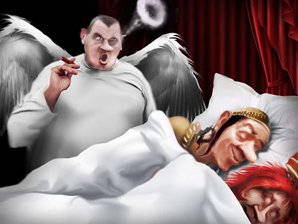Мой ангел-хранитель чертовски прав! Ночью во сне предсказал мне вечную народную память – вне зависимости от степени замудоханности королевства.