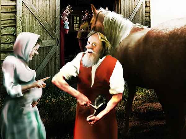 Моя служанка родила. При дворе полагают, что не без моего покровительства, но, умничка, всё валит на конюха. Правда, сынишку назвала Импичментом.
