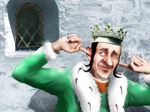 Личного лекаря Своего Величества отдал палачу, врагом оказался – написал брошюрку о неизбежности геморроя при долгом сидении на троне.