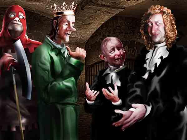 Поймал на воровстве 7 министров и сенатора. Рыдают, оправдываются, мол, крали не из жадности, а машинально реализуя сноровку.
