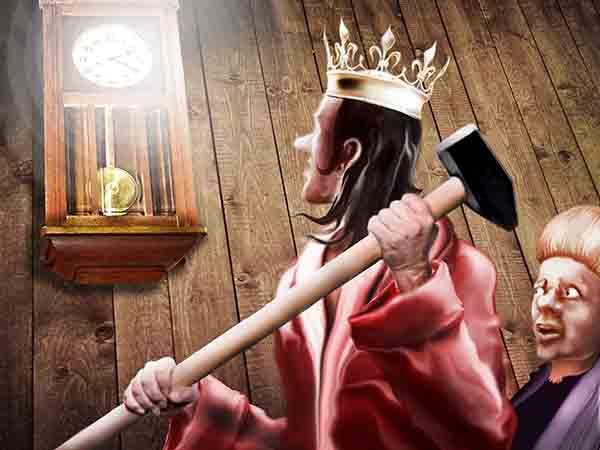 Тёща подружилась с оппозицией. И подарила мне часы. Каждый час – удар жуткого колокола, и страшный голос шепчет: Время собирать ка-а-амни!