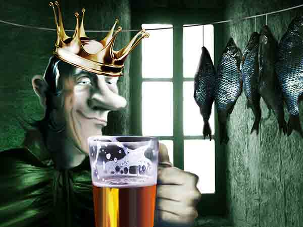 Вечером обнаружил себя беседующим с графином водки! Думал, крыша поехала, но утром поговорил с кружкой пива – всё нормально.