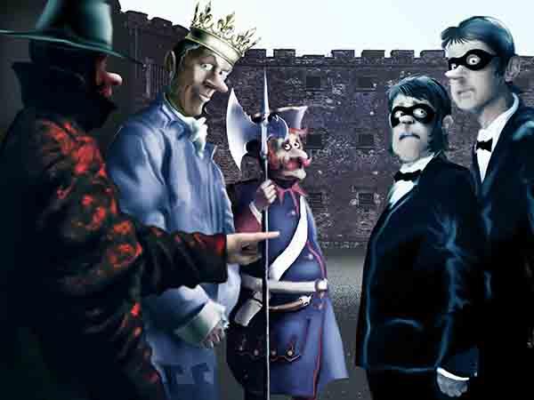 Шеф королевской разведки просит увеличить шпионам-резидентам паёк, ибо некоторым понравилось подрабатывать кротовством.