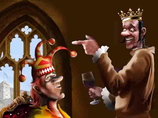 Король должен быть вменяемым. Или сменяемым. Сосед вон на троне уже почти столько же, сколько я, и слуга напоминает ему по утрам, что он умничка.