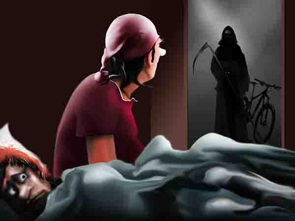 Ночью приходила за мной смерть с косой. Сказал ей, что непременно воспользовался бы её услугами, но нам никак нельзя без объявления тендера. Ушла.