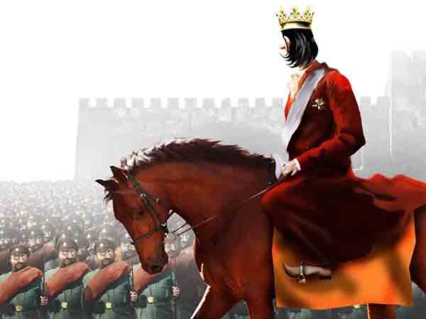 В охране Моего Величества служат всего 12000 гвардейцев, хочу к зиме увеличить их число раз в восемь, бережёного Бог бережёт.