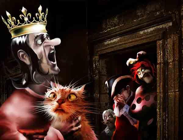 Оппозиция нынче уже не та. Раньше прибегут и орут: «Кто тут король?!» Вчера по привычке спрятался, так они в пустом кабинете потоптались, напукали и ушли.