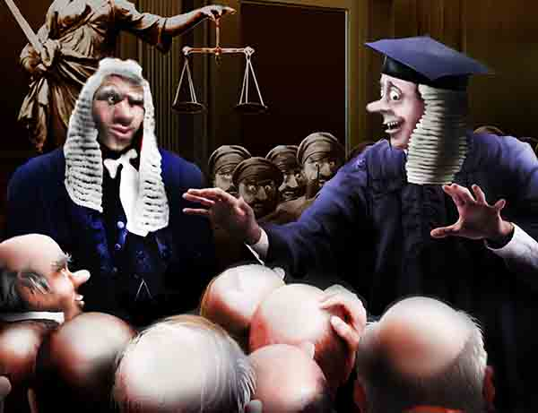 Разрешил королевскому суду судить обвиняемых оптом – кучками, шеренгами и вагонами, но только чтоб справедливо!