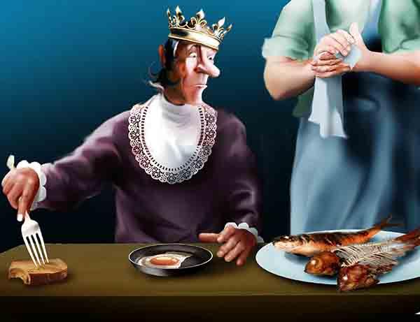 Желающим меня отравить авторитетно заявляю – не выйдет! Все мои блюда пробуют до меня. Я потому и лютый, что всю жизнь за кем-нибудь доедаю.