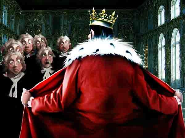 Народ боится, что у власти я буду вечно. Ходит слух, что я сумчатый! Что на троне меня сменит уже взрослый преемник, которого я тайно вырастил в районе бикини.
