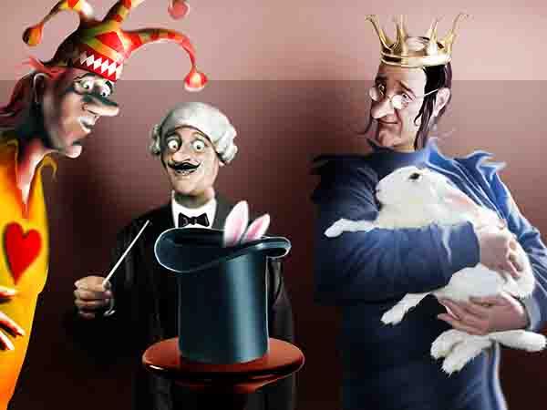Работники королевского избиркома, когда не заняты, подрабатывают мастер-классами на курсах фокусников – достают из шляпы голубей и кроликов.