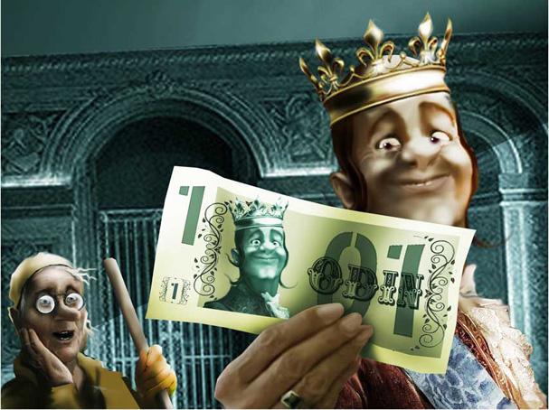 Утром народ королевства узнает о моей денежной реформе! То-то обрадуются, что их деньги теперь не в кубышках сопреют, а пойдут на возводить и бороздить!