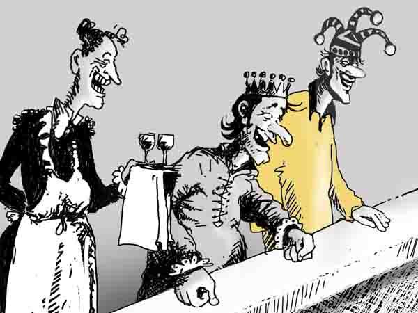 По просьбам трудящихся, справедливости ради, разрешил рукоприкладство по отношению к королевским министрам, выходящим на пенсию.