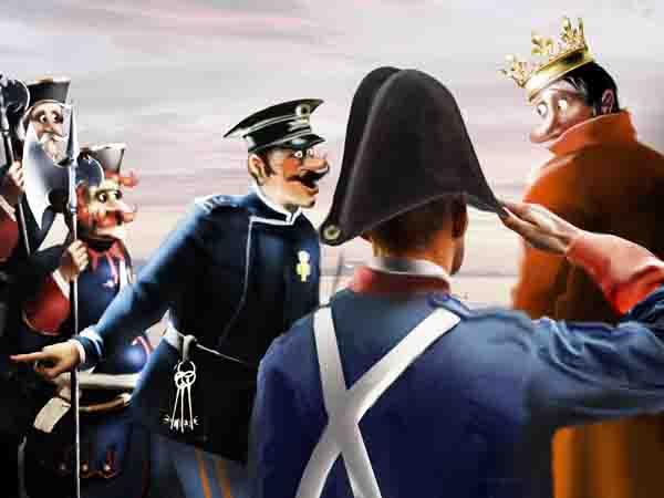 Утром между прочим сказал в королевской жандармерии, что в народе после эпидемии, наверняка, остались антитела, так уже к вечеру всех поймали!