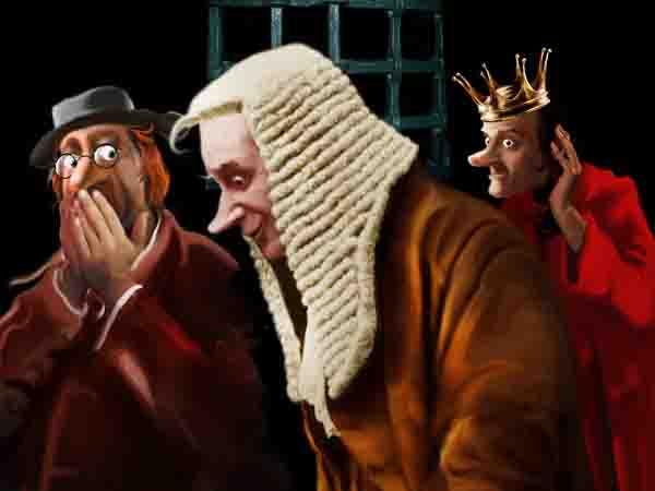 В Королевском суде для выявления иностранных агентов объявляют дебоширам 20 лет каторги и внимательно слушают реакцию. «Оба-на!» отпускают, «Вау!» – на дыбу.