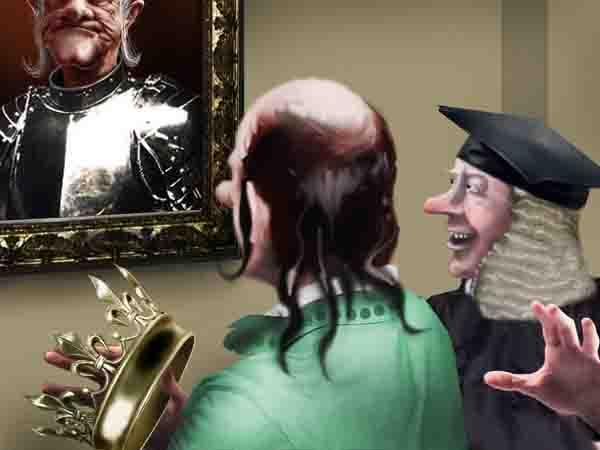 На пути к власти мой папа зарезал двух родственников – соискателей престола. Королевский суд тут же, немедленно пожурил его за недобросовестную конкуренцию.